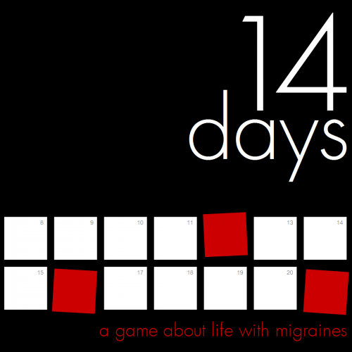 The cover for 14 Days, done by Evan Rowland.