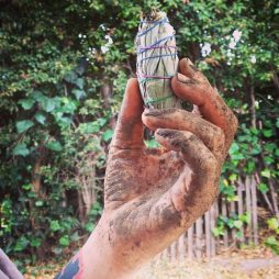 Sage smudging is an indigenous method of cleansing negative space and energies.