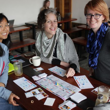 Activists play-test radical board game Rise Up in Oakland, California