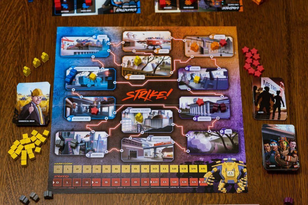 STRIKE! The Game of Worker Rebellion